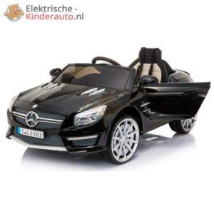 Mercedes SL63 AMG kinderauto Zwart