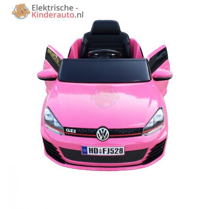Volkswagen Golf Gti Roze Kopen Elektrische Kinderauto Nl