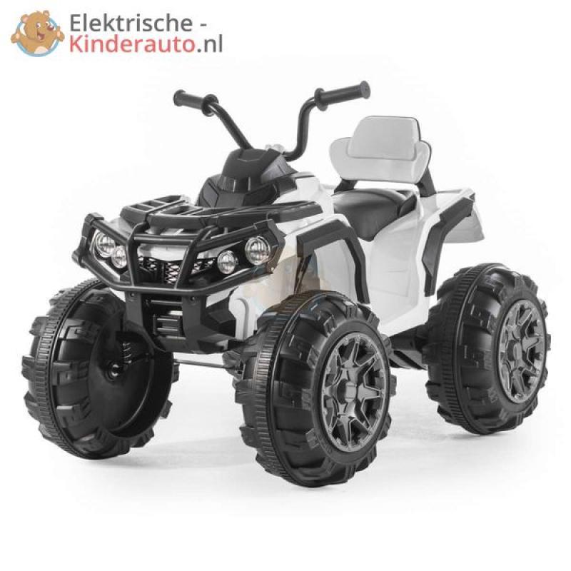 Quad 12v Kinderquad Wit Kopen Elektrische Kinderauto Nl