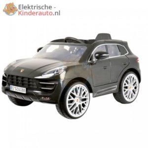 Porsche Macan Kinderauto Zwart