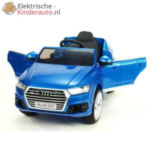 Audi Q7 Upgrade Kinderauto Blauw 1