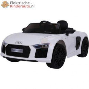 Audi R8 Kinderauto Wit 1