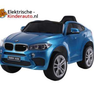 BMW X6 Kinderauto Blauw 1