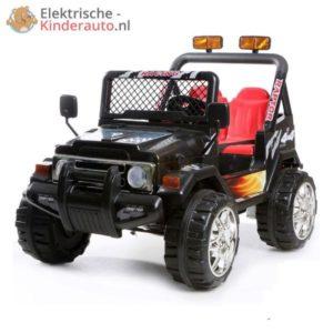 Jeep Raptor Kinderauto Zwart 1