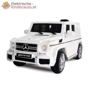 Mercedes G63 AMG Kinderauto Wit 1