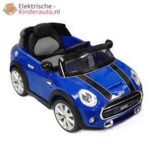 Mini Cooper Kinderauto Blauw 1