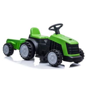 tractor trailer kinderauto 6V 1