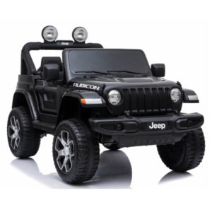 jeep wrangler rubicon kinderauto zwart 2